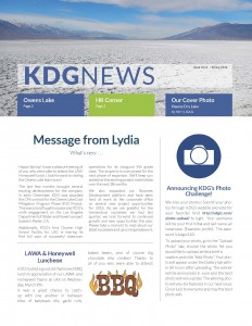 KDG Newsletter Spring 2016